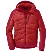 Outdoor Research - Men's Diode Hooded Jacket (hot sauce)